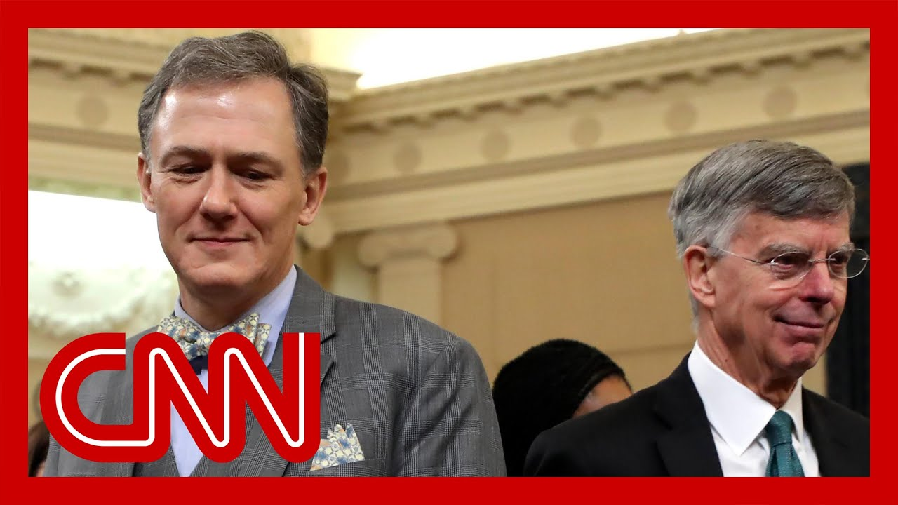 Trump impeachment hearings - Bill Taylor, George Kent (FULL CNN Live Stream)