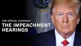 CNN LIVE: Trump impeachment inquiry hearings - Day 1