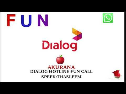 Dialog fun call Akurana youth boys
