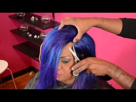 How to do Illusion Edges Custom colored Bob by Ms.Willaworld