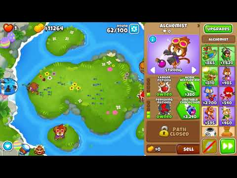 Repeat Bloons TD 6 - Haunted CHIMPS- Original Strategy (BTD6
