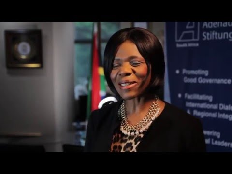 KAS-Interview with Public Protector Adv. Thuli Madonsela