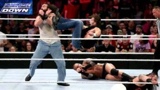WWE Smackdown 08/20/2015 Full Show Highlights and Results(8 man tag team main event)