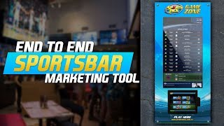 Sportspick Game Zone - Your End to End Sports Bar Marketing Tool