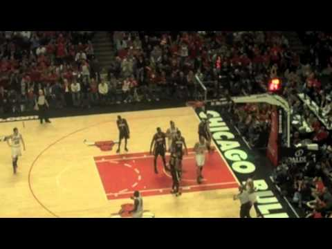Bulls Pacers 2011 Game One Playoff Comeback Highlight Tape! AERIAL View!!!