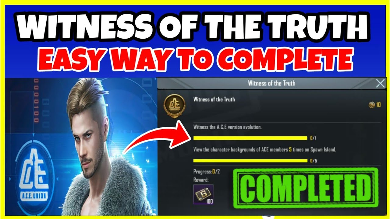 Download HOW TO COMPLETE WITNESS OF THE TRUTH ACHIEVEMENT IN PUBG MOBILE ! NEW TRICK TO COMPLETE ACHIEVEMENT
