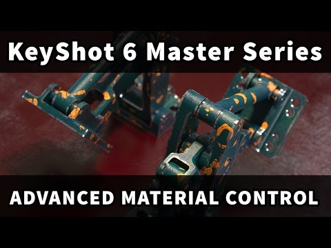 KeyShot 6 Master Series: Advanced Material control
