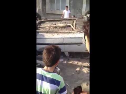 Авария в Баку. 18.09.2013 |...