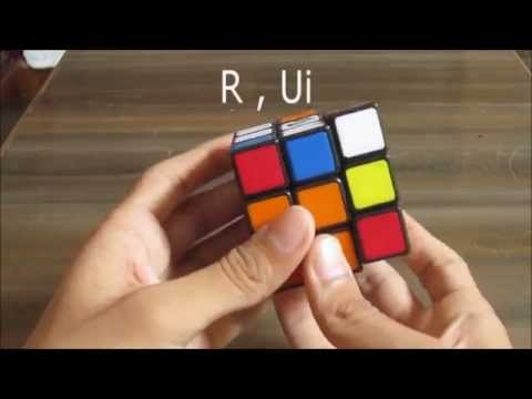 How To Solve Rubik's Cube With Just 2 Simple Moves!
