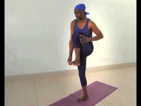 Yoga with Dr  Ngure waMwachofi