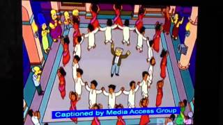 Hindi song in Simpsons
