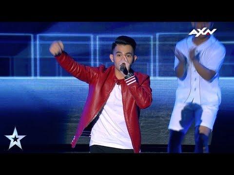 Neil Rey Garcia Llanes Semi-Finals Epi 6 Highlights | Asia's Got Talent 2017