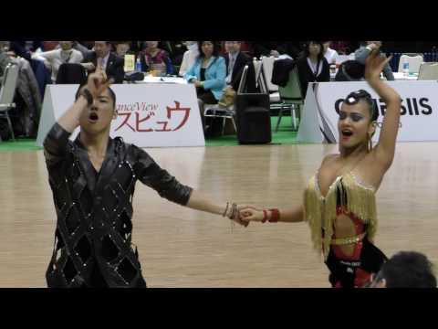4K 2017 WDSF World Open Latin in Tokyo | Sota Fujii - Ami Yoshikawa | CHA CHA CHA