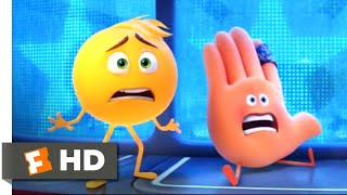 The Emoji Movie (2017) - A Helping Hand Scene | Fandango Family