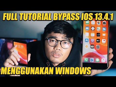 FULL TUTORIAL BYPASS IPHONE IOS 13.4 WINDOWS GAMPANG 100% WORK