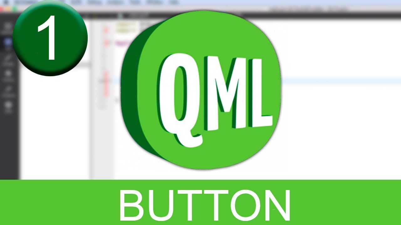 Tutorial Qt Creator - QML - Button