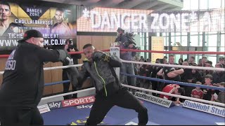EXPLOSIVE! - ISMAEL BARROSO (FULL) PADWORK SESSION @ OPEN MEDIA WORKOUT / DANGER ZONE