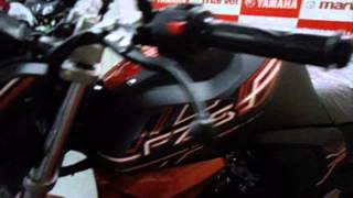 #Bikes@Dinos: Yamaha FZ-S FI Version 2.0 2014 Walkaround (exhaust note, price, tech specs, etc.)