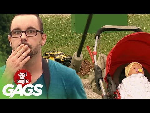 Youtube filmek - Toy Car Causes Major Damage! - Just For Laughs Gags