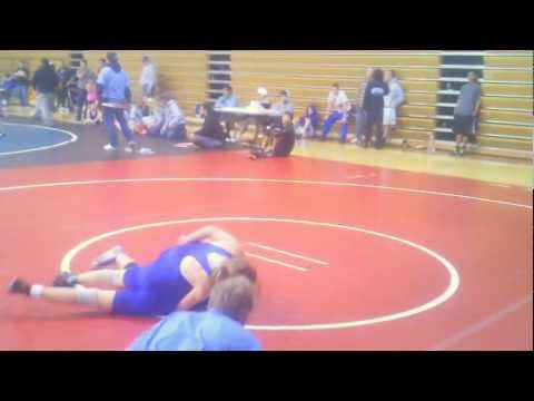 Christina Jenne suplays and pins boy in a Greco Roman Match 3-31-2012