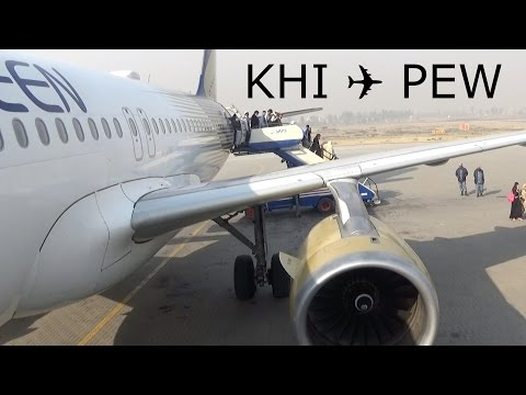 [TripReport] Shaheen Air NL191 | Karachi - Peshawar | Airbus A320