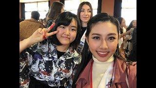 Nguyễn Thúc Thùy Tiên bị lạc ở Nhật Bản - Miss International Hoa hậu quốc tế 2018