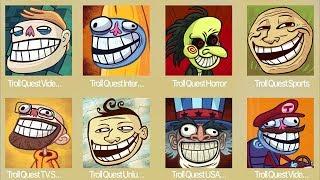 Troll Quest Meme,Troll Internet,Troll Horror,Troll Sport,Troll TV,Troll Unlucky,Troll USA
