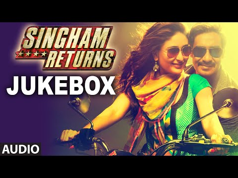 Singham Returns Full Audio Jukebox | Ajay Devgn | Kareena Kapoor Khan