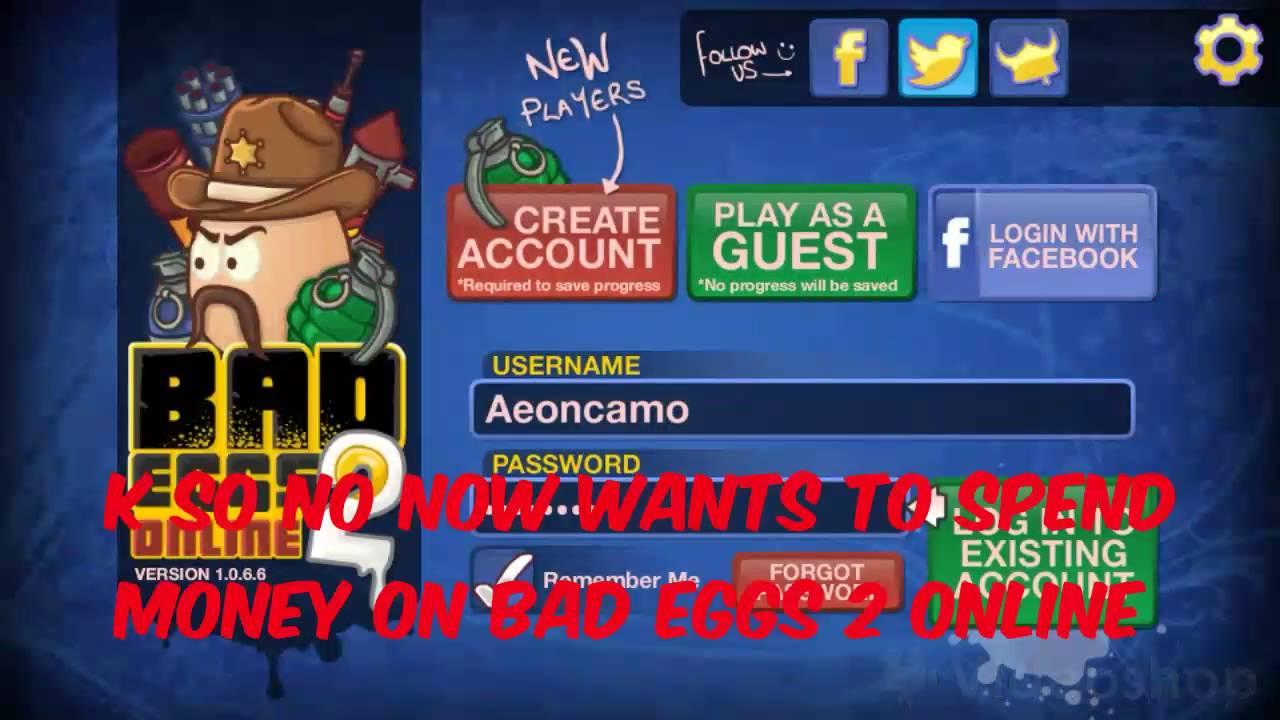 bad eggs online 2 free account level 99
