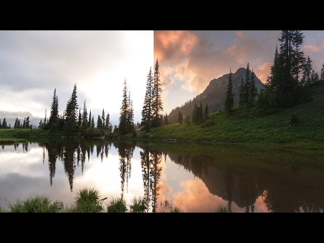 How to CLEANLY Blend 3 Exposures in Photoshop (Landscape Workflow)