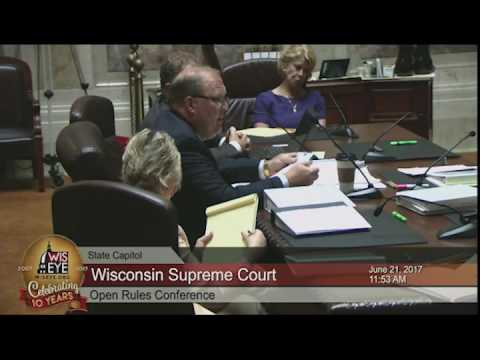 Morning Minute: Wisconsin Supreme Court Open Rules Conference
