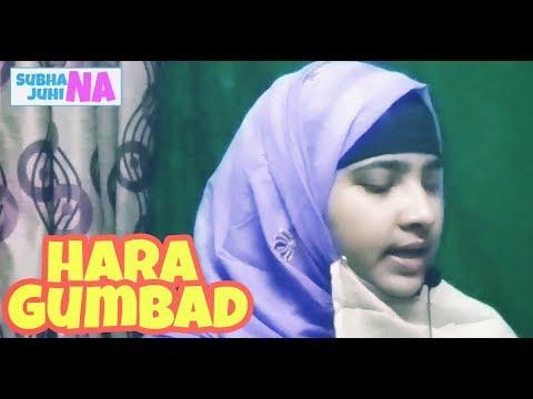 Hara gumbad jo dekhoge Qari Irfan Qasmi naat video by Subhana Juhina