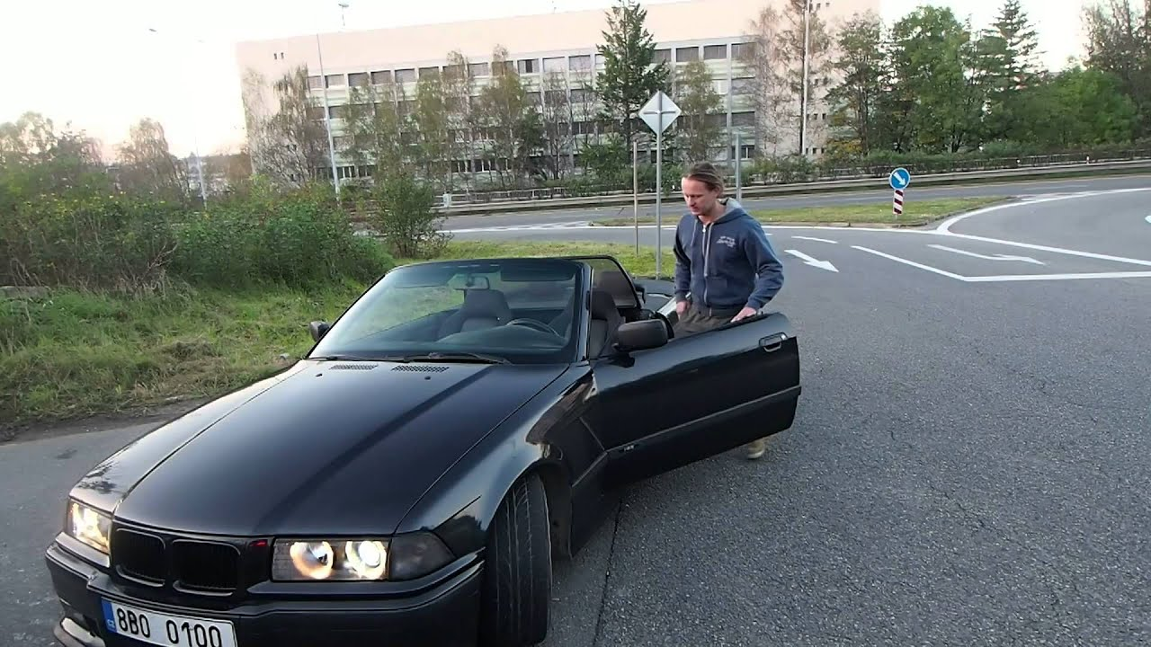 Bmw E36 M3 Cabrio Stance Youtube