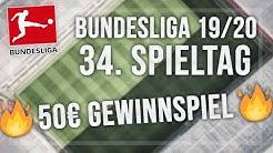 1. Bundesliga Tipps - 34. Spieltag 19/20 + 50€ Gewinnspiel | Meine Wetten (Sportwetten Tipps)