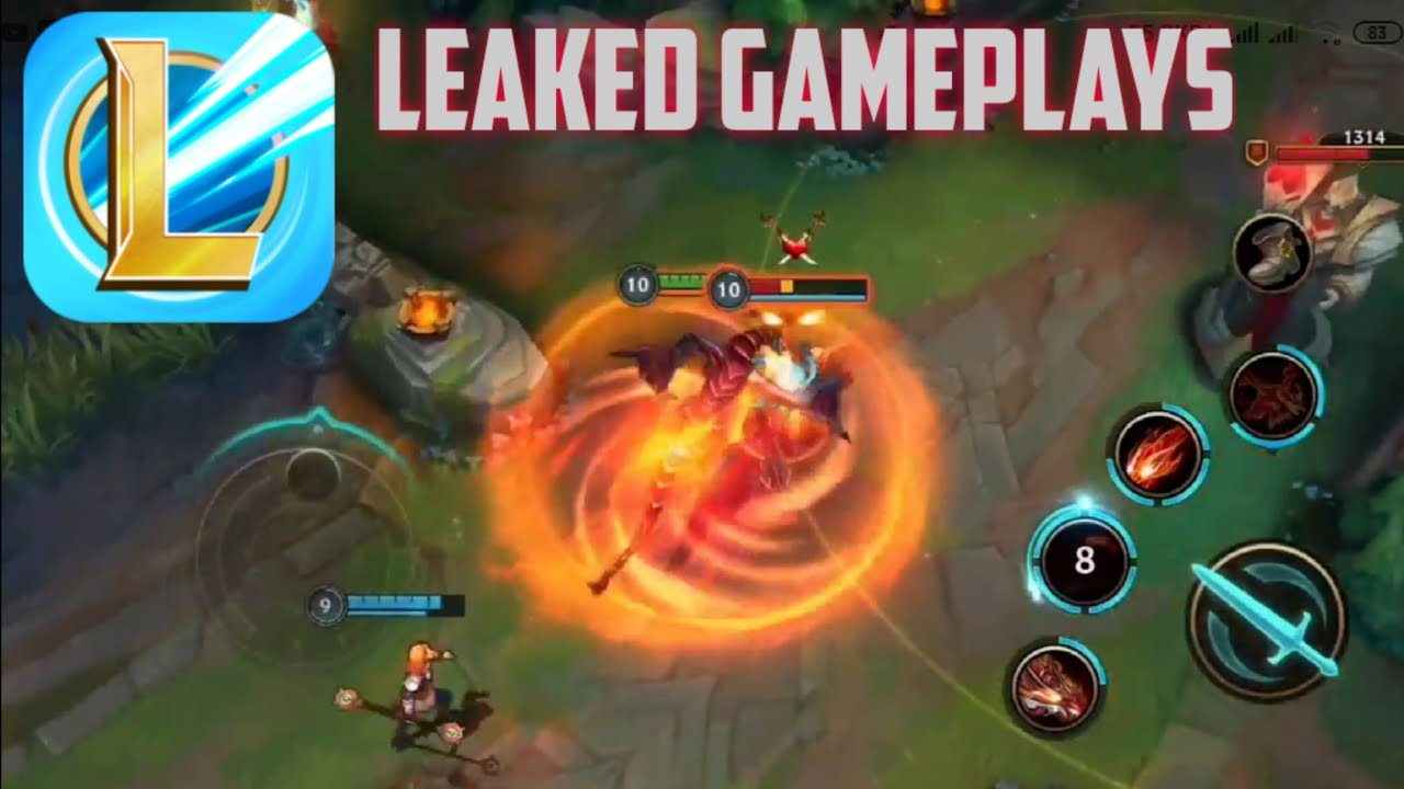 Lol Mobile Wild Rift Leaked Gameplay Closed Beta Server League Of Legends Mobile Youtube