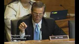Thune at Tribal Law and Order Act Hearing