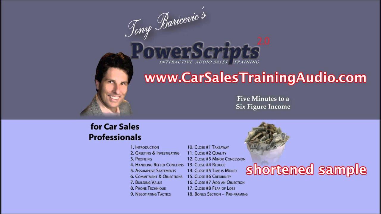 Cardone Car Sales Training