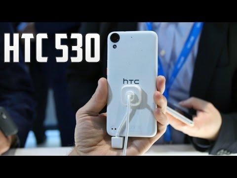 HTC Desire 530, primeras impresiones #MWC16