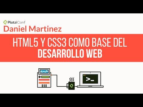 HTML5 y CSS3, la base del desarrollo web | Conferencia en PlatziConf, Febrero 2015