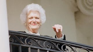 Tributes and condolences pour in for Barbara Bush