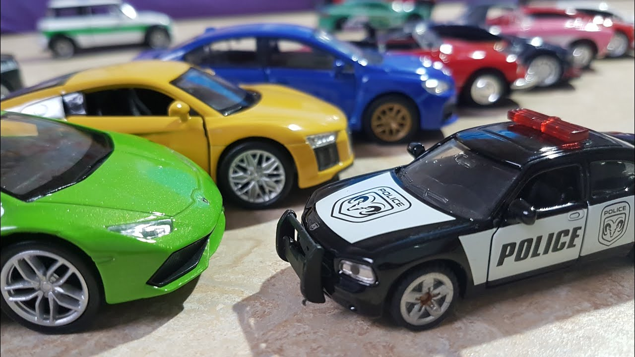 kids toy police car small car for kids videos toys kids