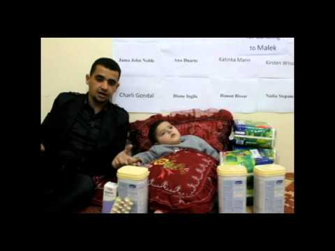 Help malek baby , poor families and Graduates in gaza