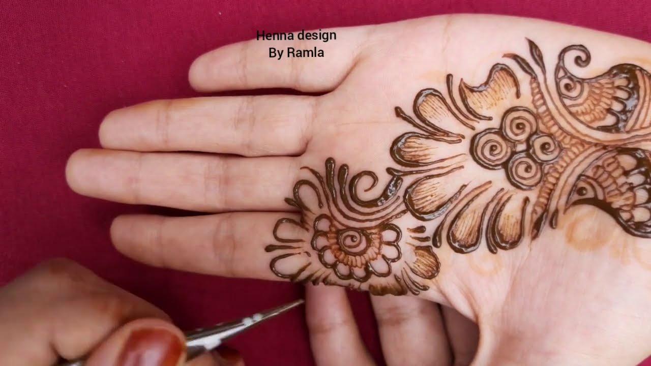 new mehndi design for Hands || arabic mehndi designs || easy mehndi designs || mehndi design simple