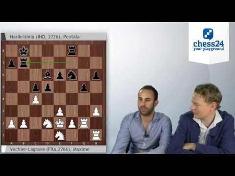 Biel Chess 2014 - Round 1 Games Review