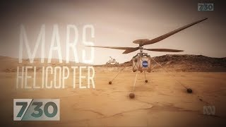 NASA plans to send first helicopter to Mars