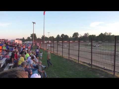 070116 Fayette County Speedway Purestock Heat 2