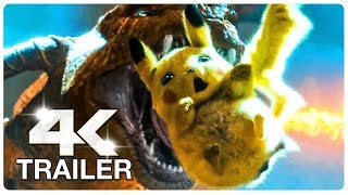 POKEMON Detective Pikachu Trailer (4K ULTRA HD) NEW 2019