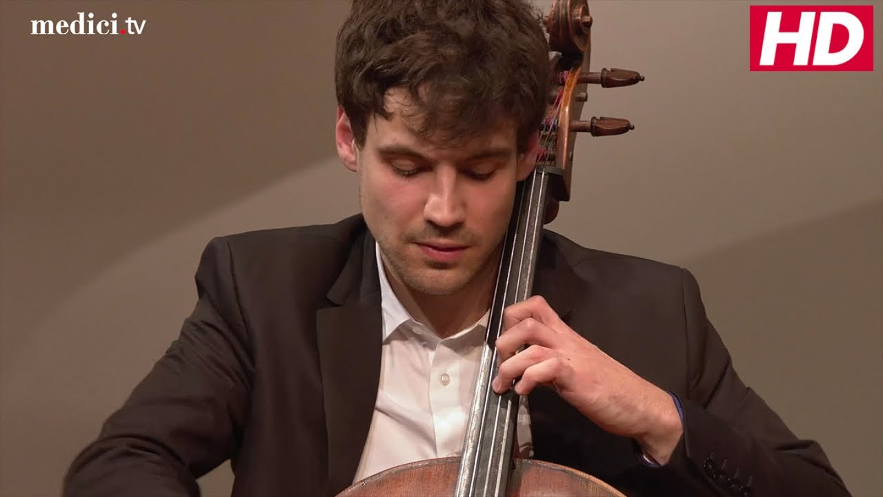 Victor Julien-Laferrière - Bach: Cello Suite No. 1 - YouTube