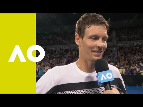 Thomas Berdych on-court interview (3R) | Australian Open 2019
