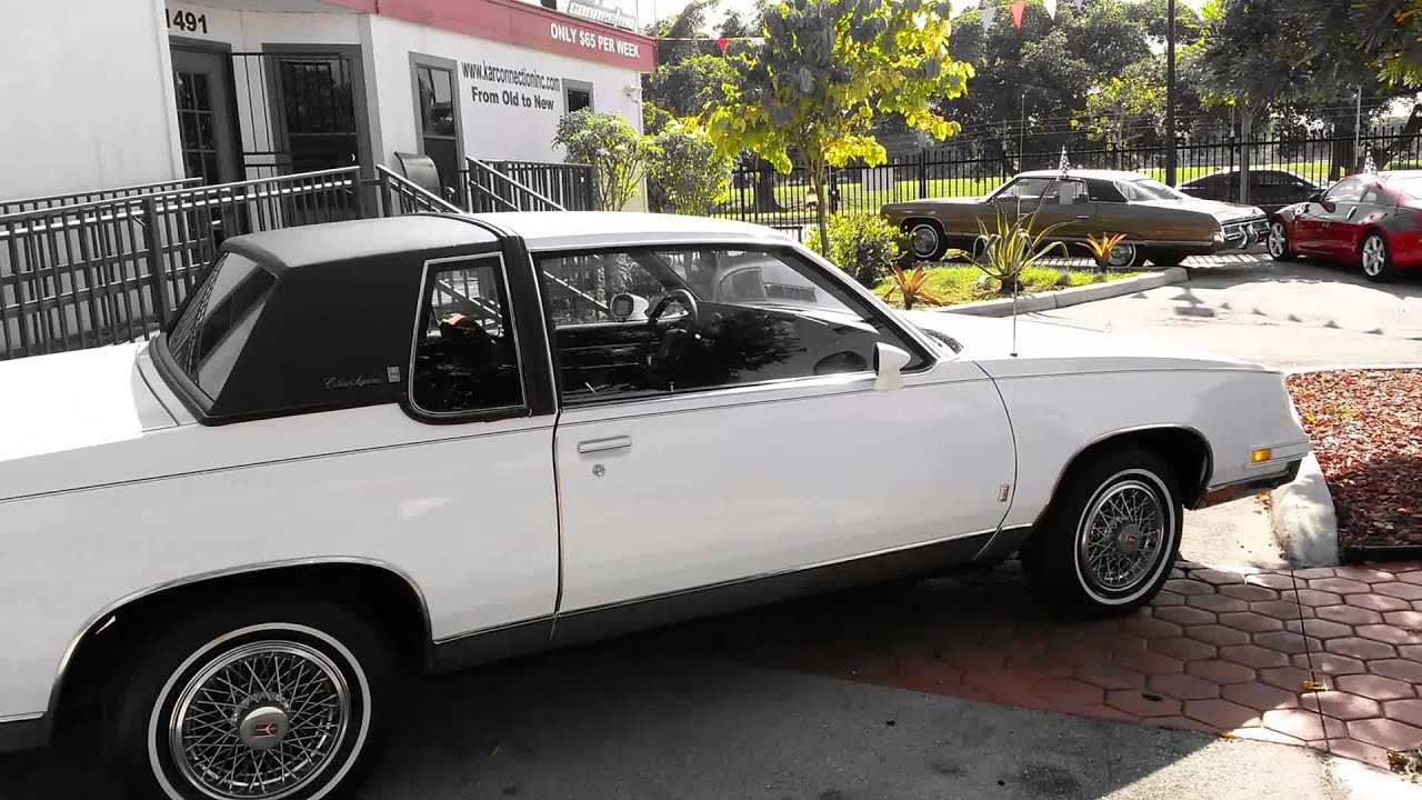1986 oldsmobile cutlass supreme brougham autos car for sale in miami florida youtube. Black Bedroom Furniture Sets. Home Design Ideas